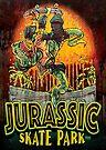 Jurassic Dinosaur Skate Park by MudgeStudios