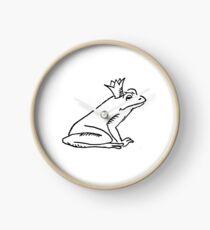 Froschkönig - Print Uhr