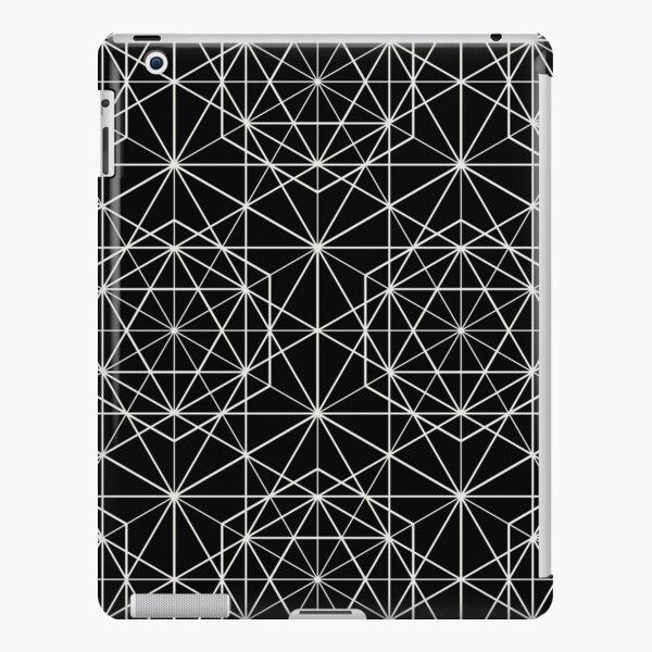 Islamic Motif - Geometric Pattern (White) iPad Snap Case