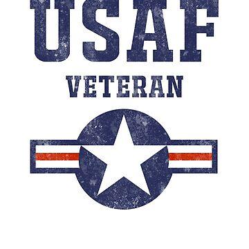 Air Force USAF Veteran  by JDOK