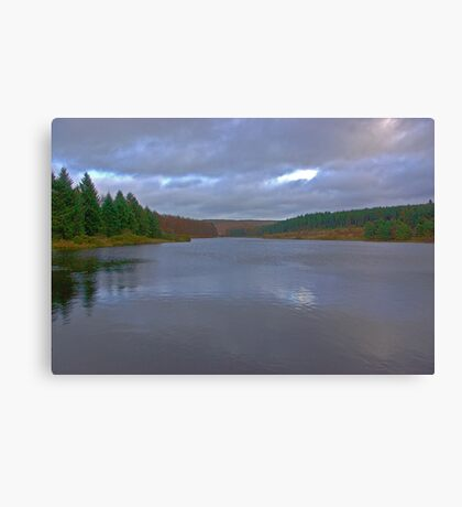Cod Beck Reservoir Canvas Print