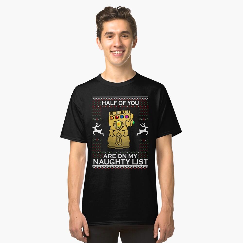 Navidad infinita Camiseta clásica