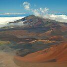 Haleakala Volcano and Lava Field, Maui, Hawaii by fauselr