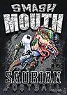 Smash Mouth Dinosaur Football  by MudgeStudios