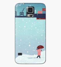 Hamburg im Winter Hülle & Skin für Samsung Galaxy