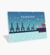 Hamburg im Winter Laptop Skin