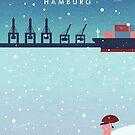 Hamburg im Winter von Katinka Reinke