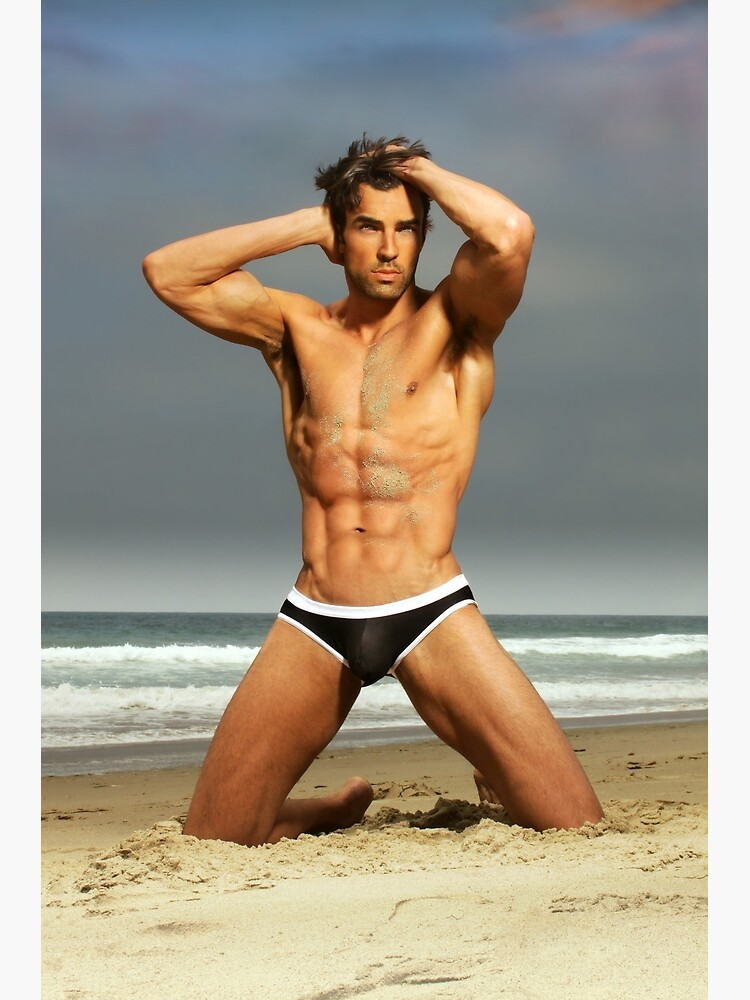 Mark on the beach by MaleVision