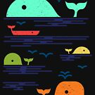 Ocean of Whales by freeagent08