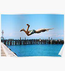 Portsea Pier Dive Poster