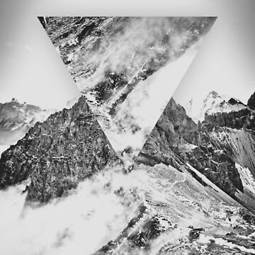 Abstract Mountains by adelemawhinney
