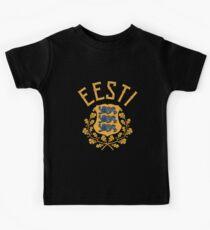 Estland Baltikum Kinder T-Shirt