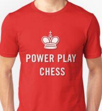 Power Play Chess Logo Shirt Slim Fit T-Shirt