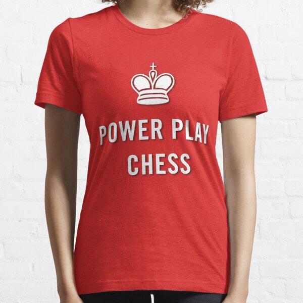 Power Play Chess Logo Shirt Essential T-Shirt