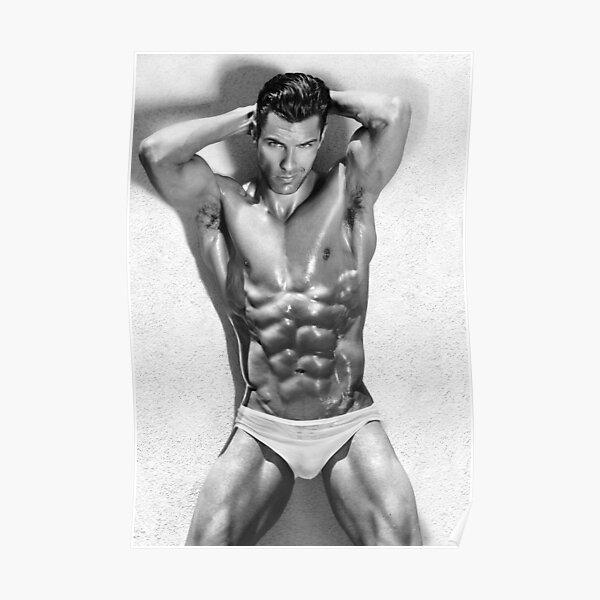 Fashion model Chris Poster