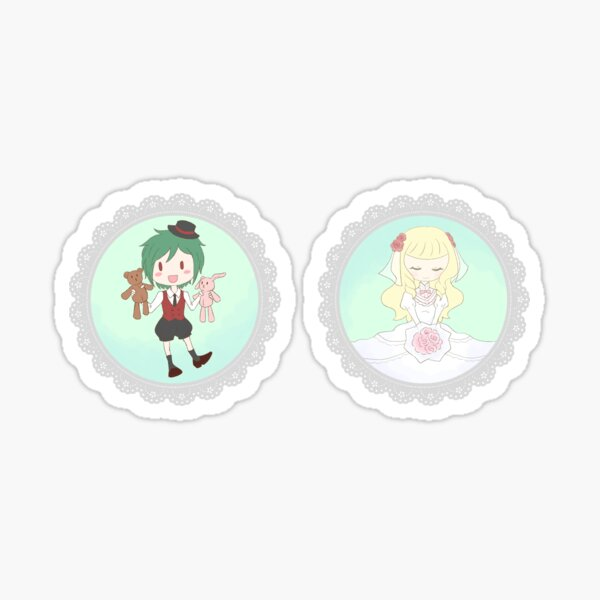 TWTP sticker set: Renee and Mirabell Sticker