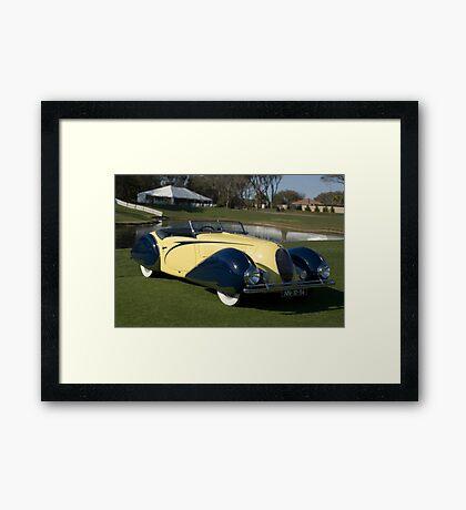 1948 Delahaye M135 Framed Print