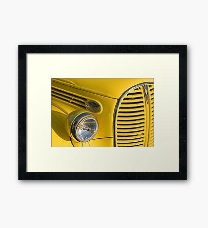 Color of Ford Framed Print