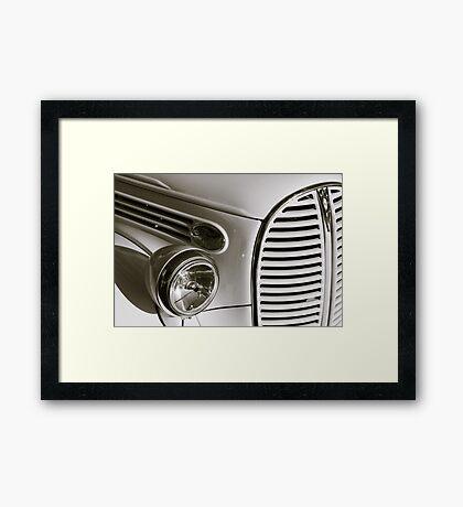 Art Deco Automobilia Framed Print