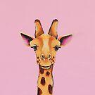 Baby Giraffe by StressieCat