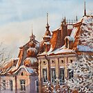Winter Roofs by Vira Kalinovska