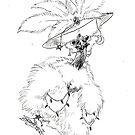 Showgirl Chicken Witch by pawlove