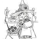 Florist Prairie Dog Witch by pawlove