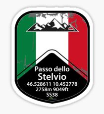 Stelvio Stickers Redbubble