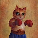 Boxing Cat by Mario-designs