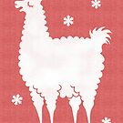 Meh-rry Christmas Alpaca by zoel