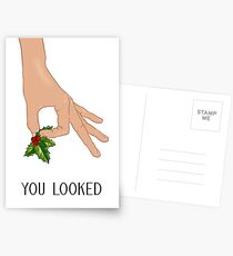 The Circle Finger Game - Christmas! Postcards