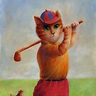Golf Cat by Mario-designs