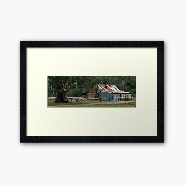 Fred Frys Hut - Victoria - Australia Framed Art Print