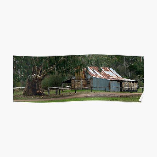 Fred Frys Hut - Victoria - Australia Poster