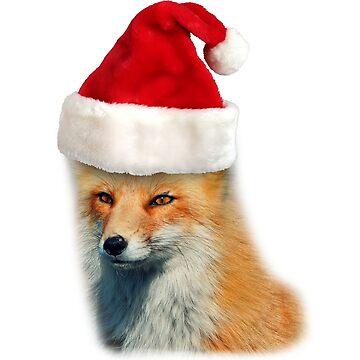 Christmas Fox by kijkopdeklok