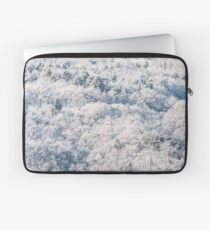 Snow on the wood Laptop Sleeve