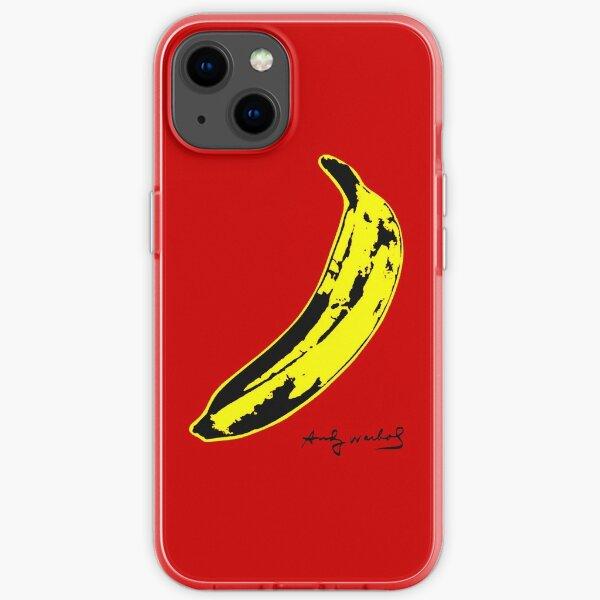 Banana warhol iPhone Soft Case