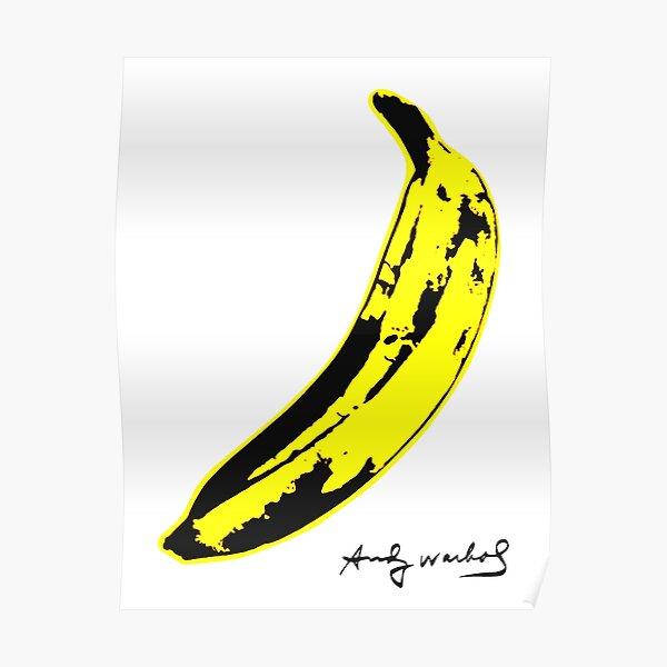 Banana warhol Poster