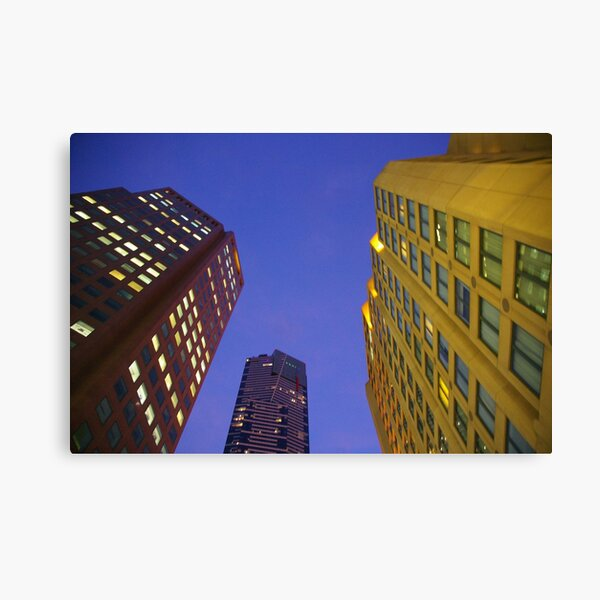 Which Of These Buildings Is The Tallest? Canvas Print