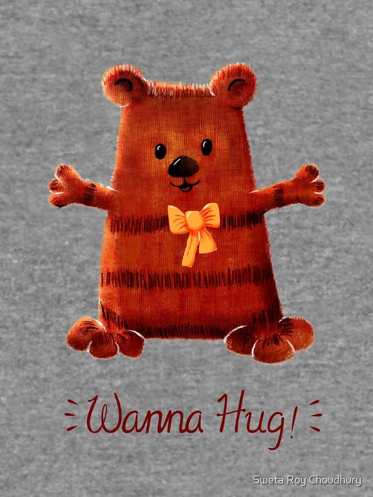 Wanna Hug- Bear by swetarcartshop