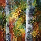 Birkenbäume # 3 von OLena Art von OLena  Art ❣️