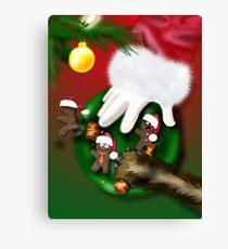 Cookies for Santa Canvas Print