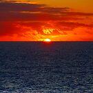 Sunrise in the Caribbean by photorolandi