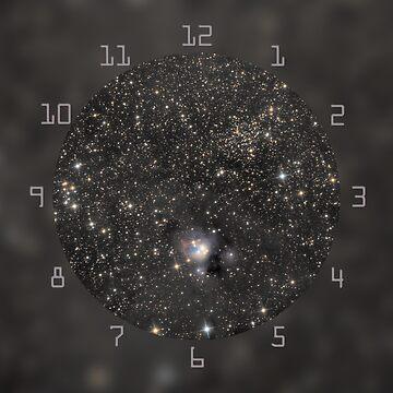 Deep space object clock by LukeSzczepanski