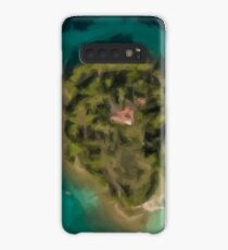 Island with house Case/Skin for Samsung Galaxy