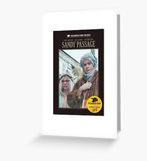 Documentary Now Sandy Passage Greeting Card
