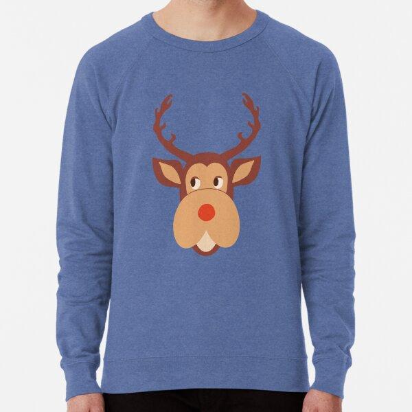 Head of Deer design like the Mark Darcy s Pullover  Lightweight Sweatshirt