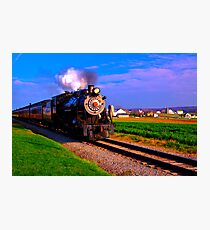 Choo Choo Number 90-Strasburg Railroad Photographic Print