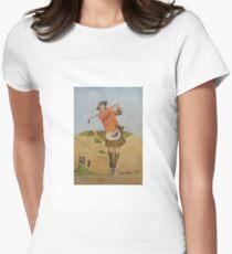 Scot Golf Women's Fitted T-Shirt