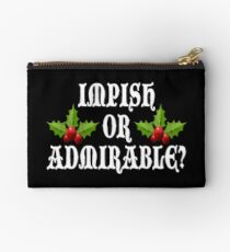 Impish Or Admirable? Studio Pouch